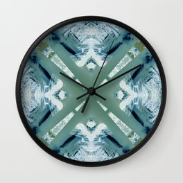 Into the Forest (Green) Wall Clock