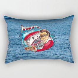 Jaws  Rectangular Pillow