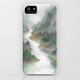 Above the Cedars iPhone Case