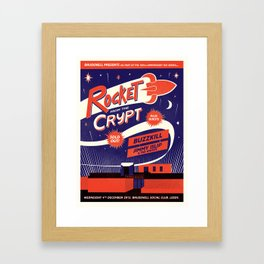 Rocket From The Crypt Framed Art Print