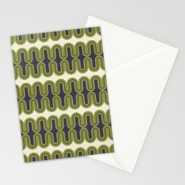Radiator in Olive and Purple Stationery Cards