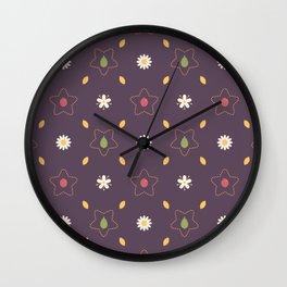 Elderflower Tea Wall Clock