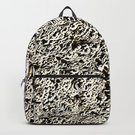 Relief Pattern Abstract Backpack