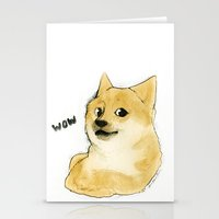 doge Stationery Cards featuring they call me doge by joanarolo