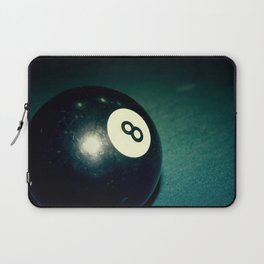 Eight Ball-Teal Laptop Sleeve