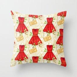 Chistmas fashion Throw Pillow
