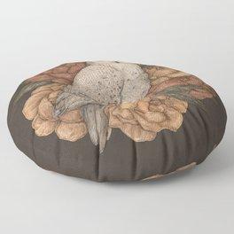 Snowy Owl Floor Pillow