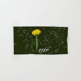 Dandeliono Character poster (STEP) Hand & Bath Towel