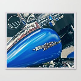 Color Theory, Blue Canvas Print