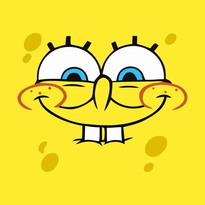 Spongebob Naughty Face Duvet Cover