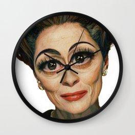 Mommie Dearest- Joan Crawford Wall Clock
