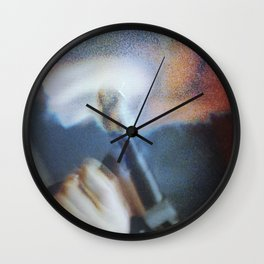 80's Acts of Violence I Wall Clock