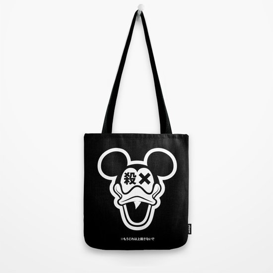 Mickey Duck Tote Bag
