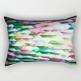 vivid quartz rising Rectangular Pillow
