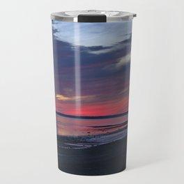 Magic Summer Sunset on the West Coast of DENMARK Travel Mug