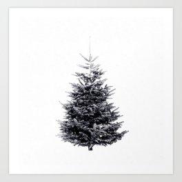 Alternative Christmas Tree Art Print