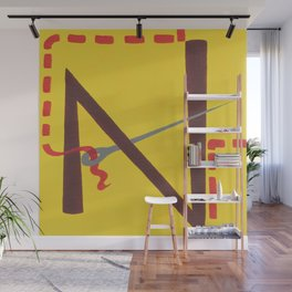 N is for Needle Wall Mural