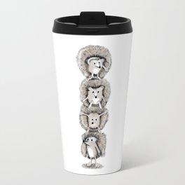Hedgehog Totem Travel Mug