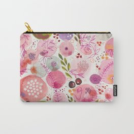 Pink Bubble for a Happy Spring Carry-All Pouch