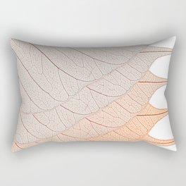 Leaves Brown Rectangular Pillow