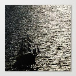 greece ship Canvas Print
