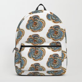 "Trametes ""Turkey Tail"" Mushroom Backpack"