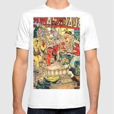 the daily lives of hungry ghosts Mens Fitted Tee White SMALL