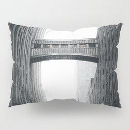 Snow Bridge in New York Pillow Sham