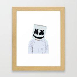 Marshmello Marshmello Box Framed Art Print