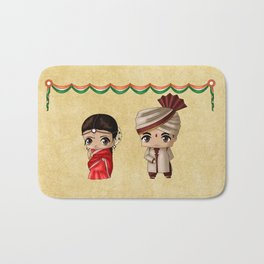 Indian Chibis Bath Mat