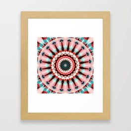 Mandala Pretty in Pink Framed Art Print