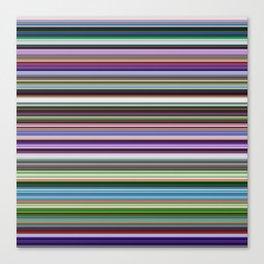 Stripes of Color Canvas Print