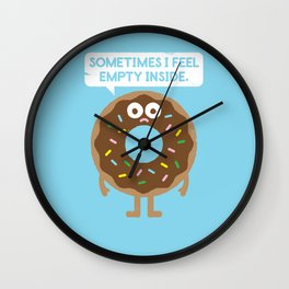 It's Not All Rainbow Sprinkles... Wall Clock