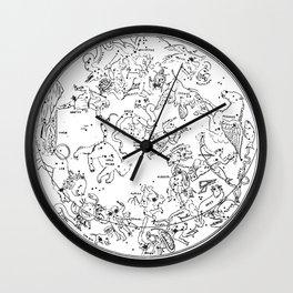 Zodiac Square 1 Wall Clock