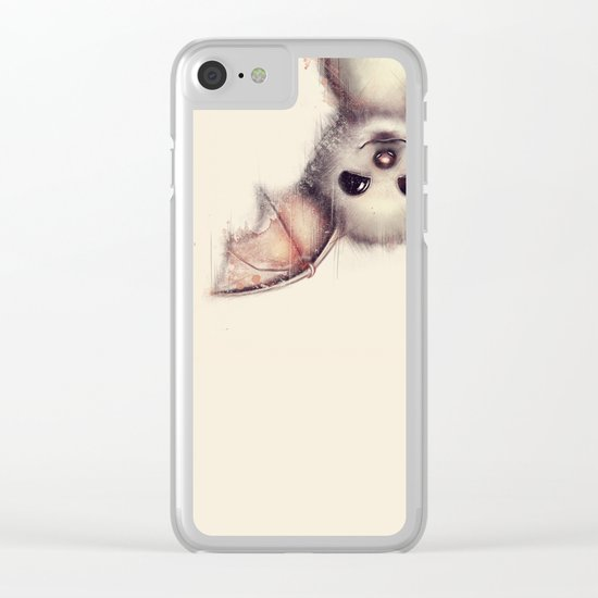 Hang in there! Clear iPhone Case
