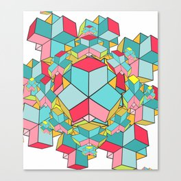 geometrix Canvas Print