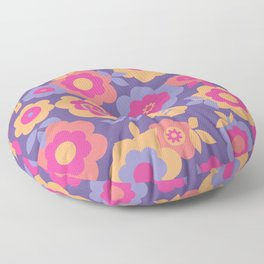 Eilin's Spring Flowers 12 Floor Pillow