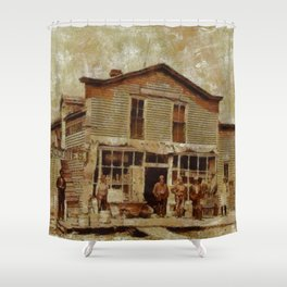 Once Upon a Time In West, Gold Rush Shower Curtain