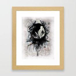 Hoodie Framed Art Print