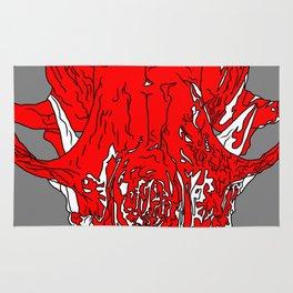 Fox Skull Rug