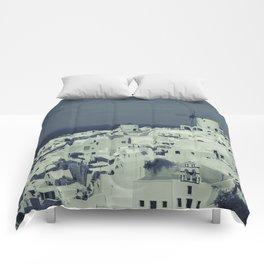 Santorini, Greece 2 Comforters