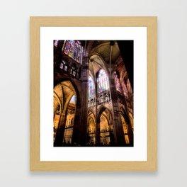 Catedral de Santa Maria de Regla de Leon Framed Art Print