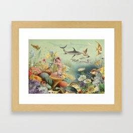 CORALLINE Framed Art Print