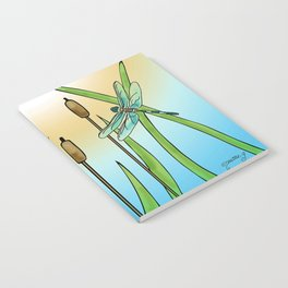 Dragonflies Fly Notebook