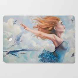 Zephyr, She Flies With Her Own Wings Cutting Board