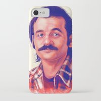 bill iPhone & iPod Cases featuring Young Mr. Bill Murray by Thubakabra
