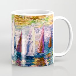 Wind on Sails by Lena Owens/OLena Art Coffee Mug