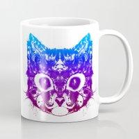 rorschach Mugs featuring Rorschach Trip by PurrpLexArt