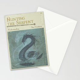 Hunting the Serpent - Book Cover Stationery Cards