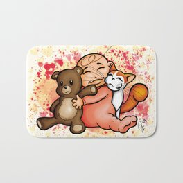 Group Hug Bath Mat
